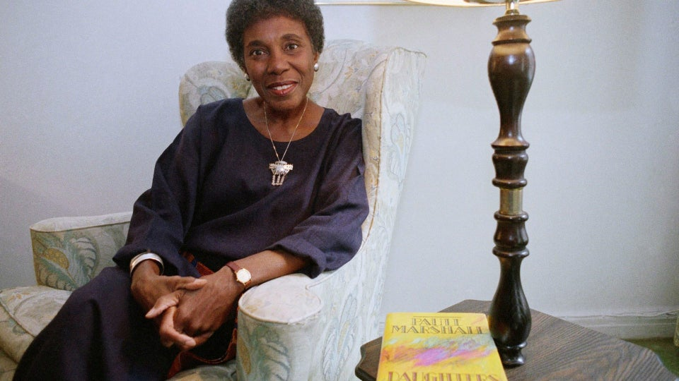 Novelist Paule Marshall Has Died