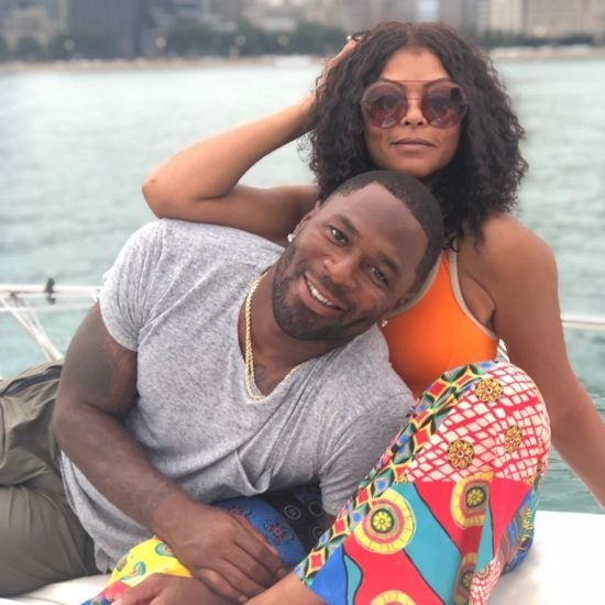 Taraji P. Henson And Fiancé Kelvin Hayden Had A Romantic Summer Date In Chicago