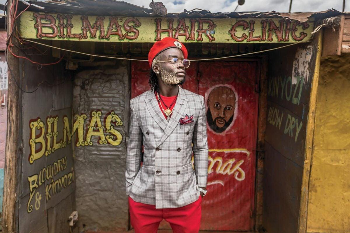 Mr. Kibera 2019 poses for a photo