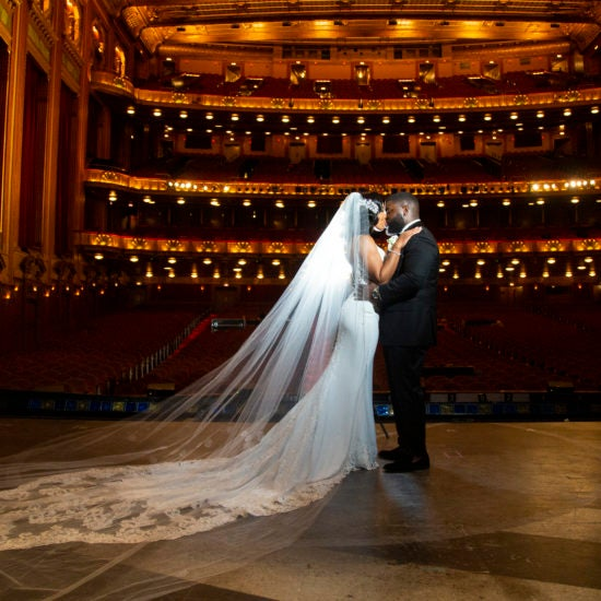 Bridal Bliss: Terrance and Tiffany Got Married At The Opera And The Wedding Deserves A Standing Ovation