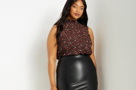 Leather Skirts Are IT This Season, Here's Our Top Picks