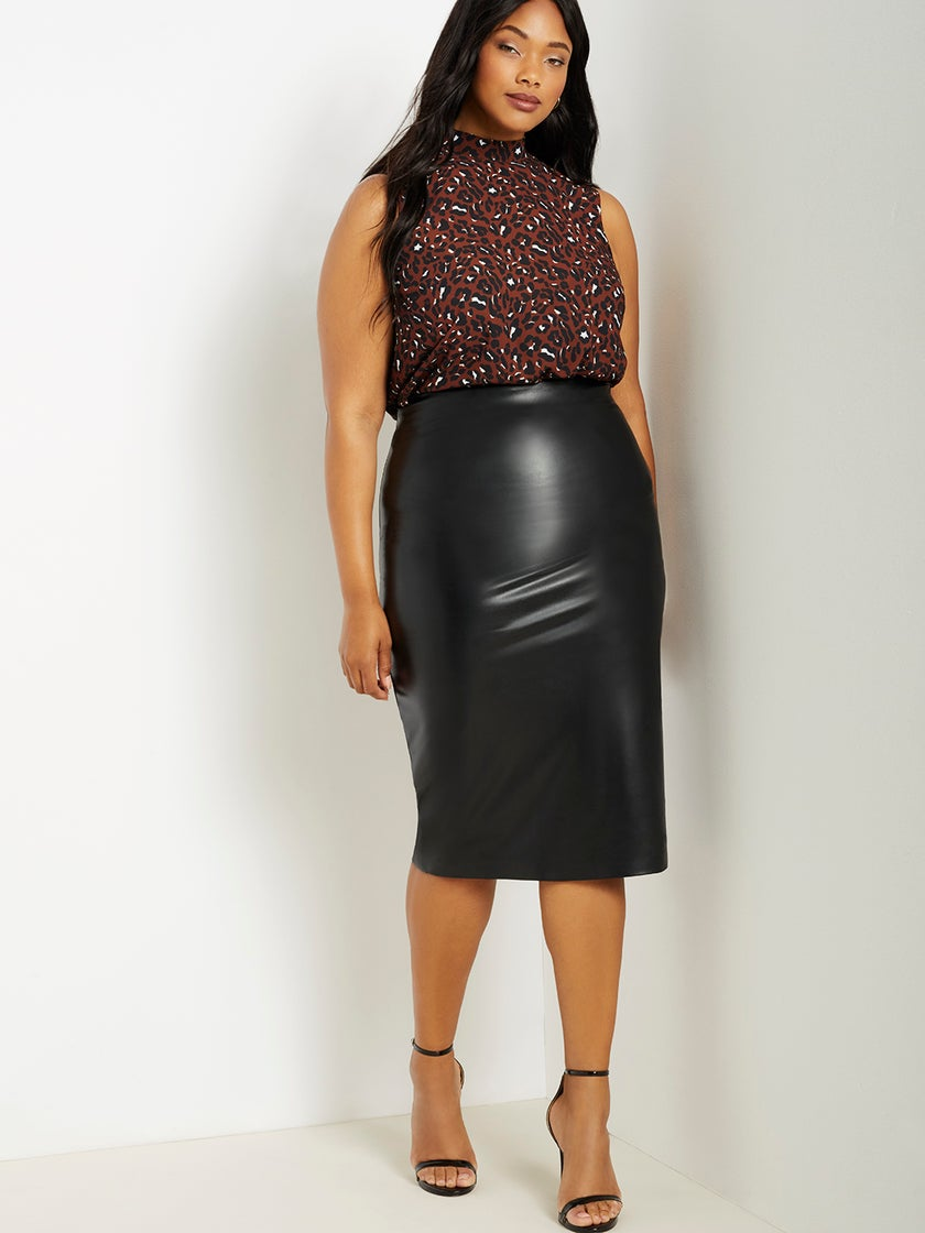 Leather Skirts Are IT This Season, Here Are Our Top Picks