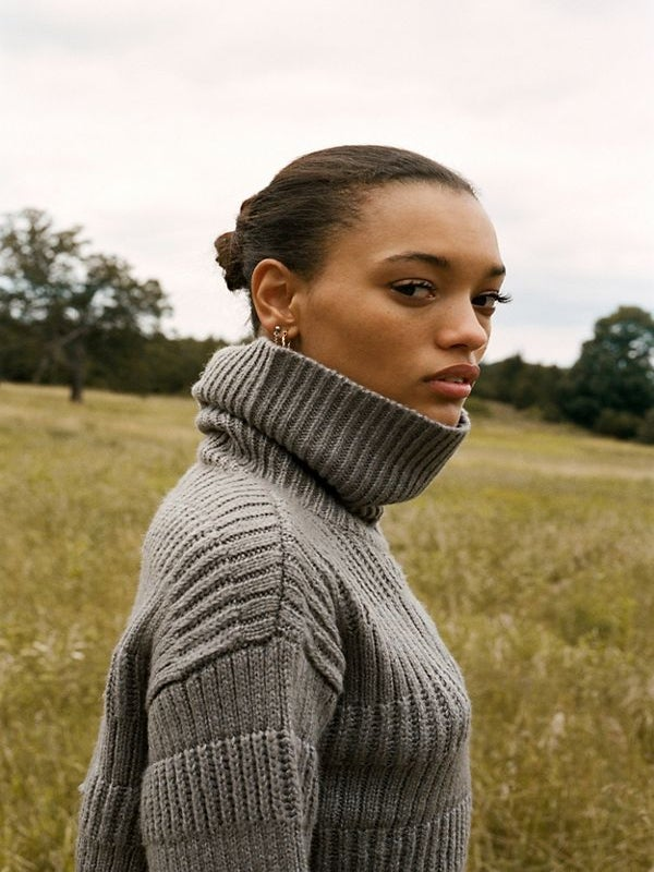 Stock Up On These Cozy, Chunky Sweaters Before Temperatures Drop