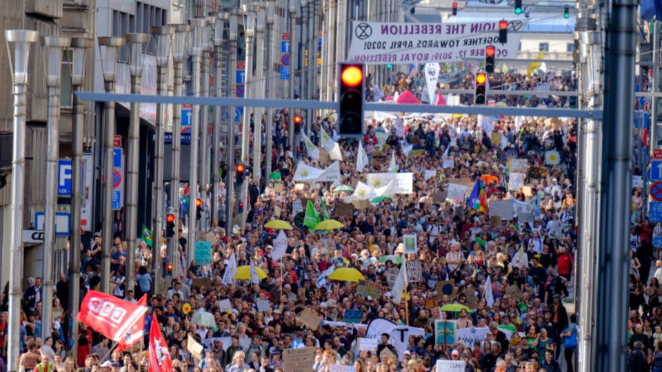Climate Change Strike: Thousands Of Students Across The Globe Walkout In Protest