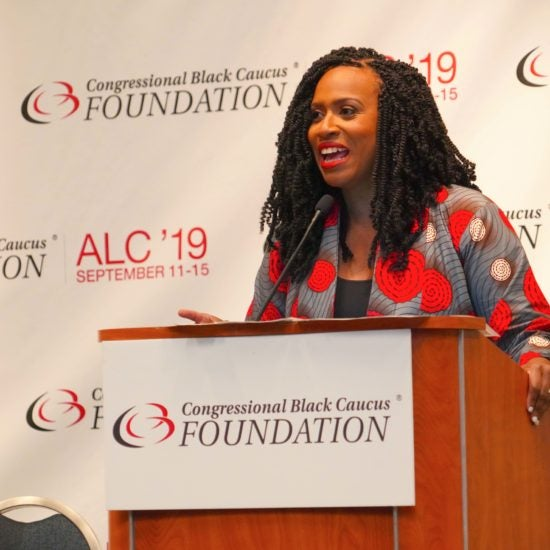 Congresswoman Ayanna Pressley Tackles The 'PUSHOUT' Of Black Girls At School