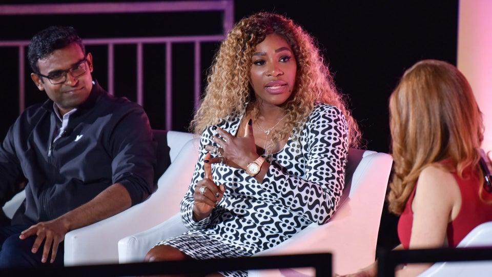 Serena Williams At Advertising Week New York
