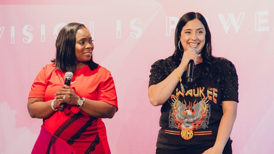 Sharifa Murdock and Laura Stylez On ENVSN Festival