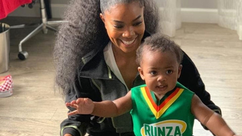 Gabrielle Union's Mini Me Has Her Own 'Bring It On' Cheerleading Outfit