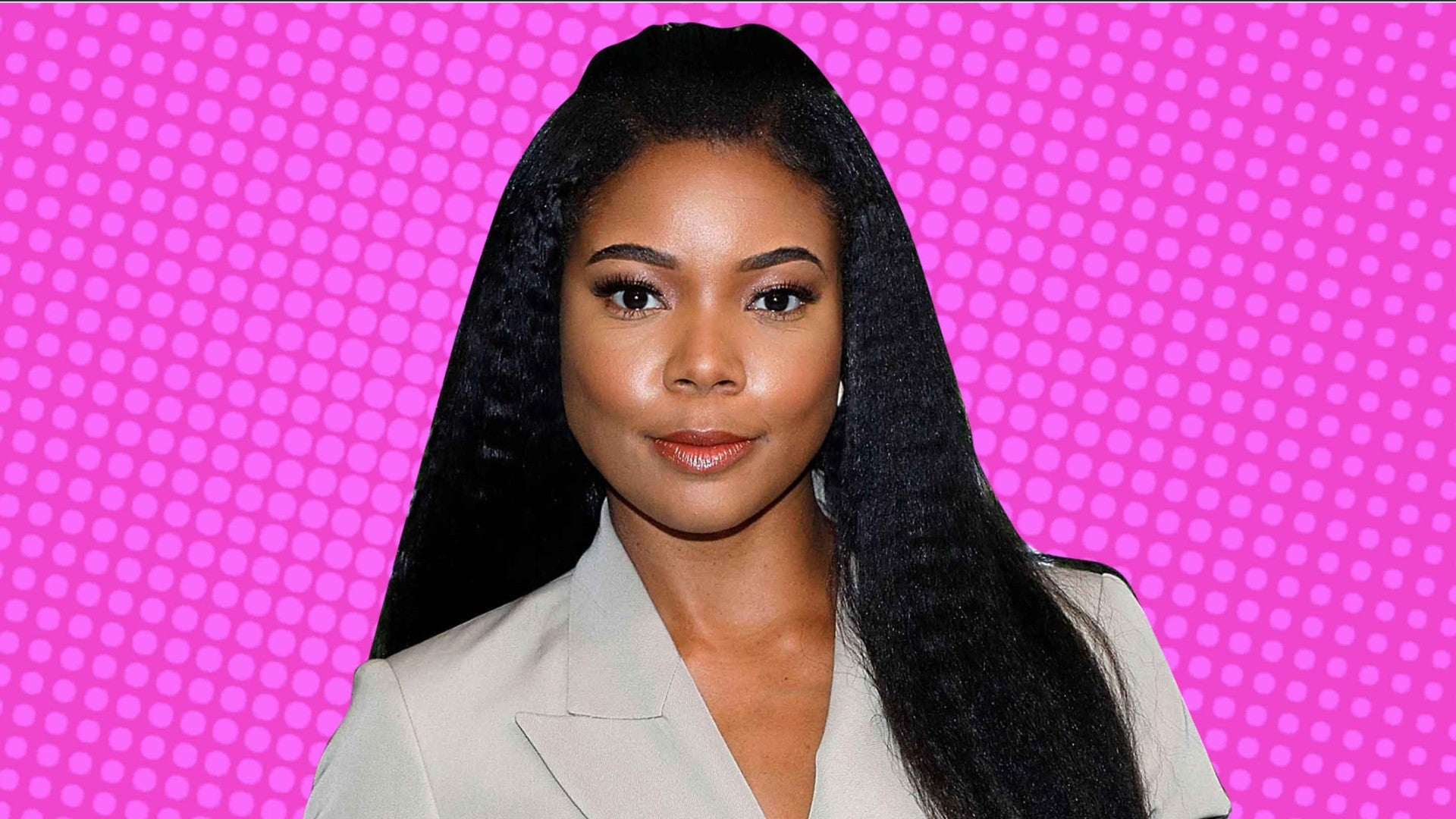 Gabrielle Union Shows Off Her Natural Curls