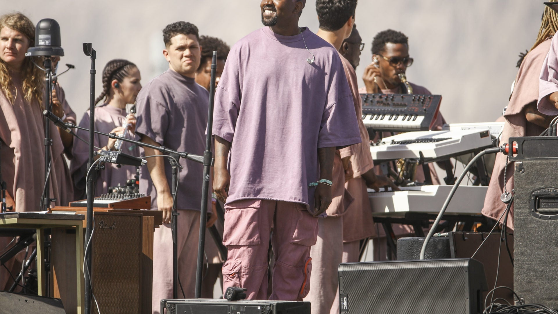 Kanye West Drops Fire Freestyle At NYC Sunday Service Essence