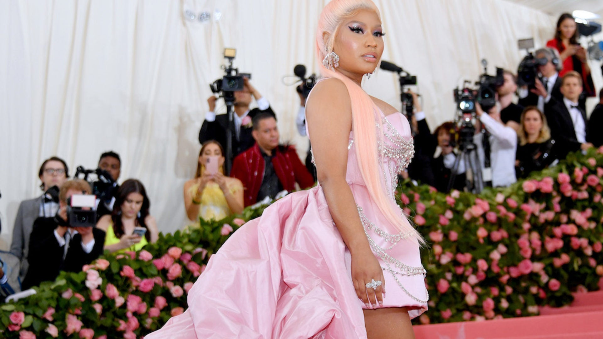 Nicki Minaj says she's retiring from music to have a family
