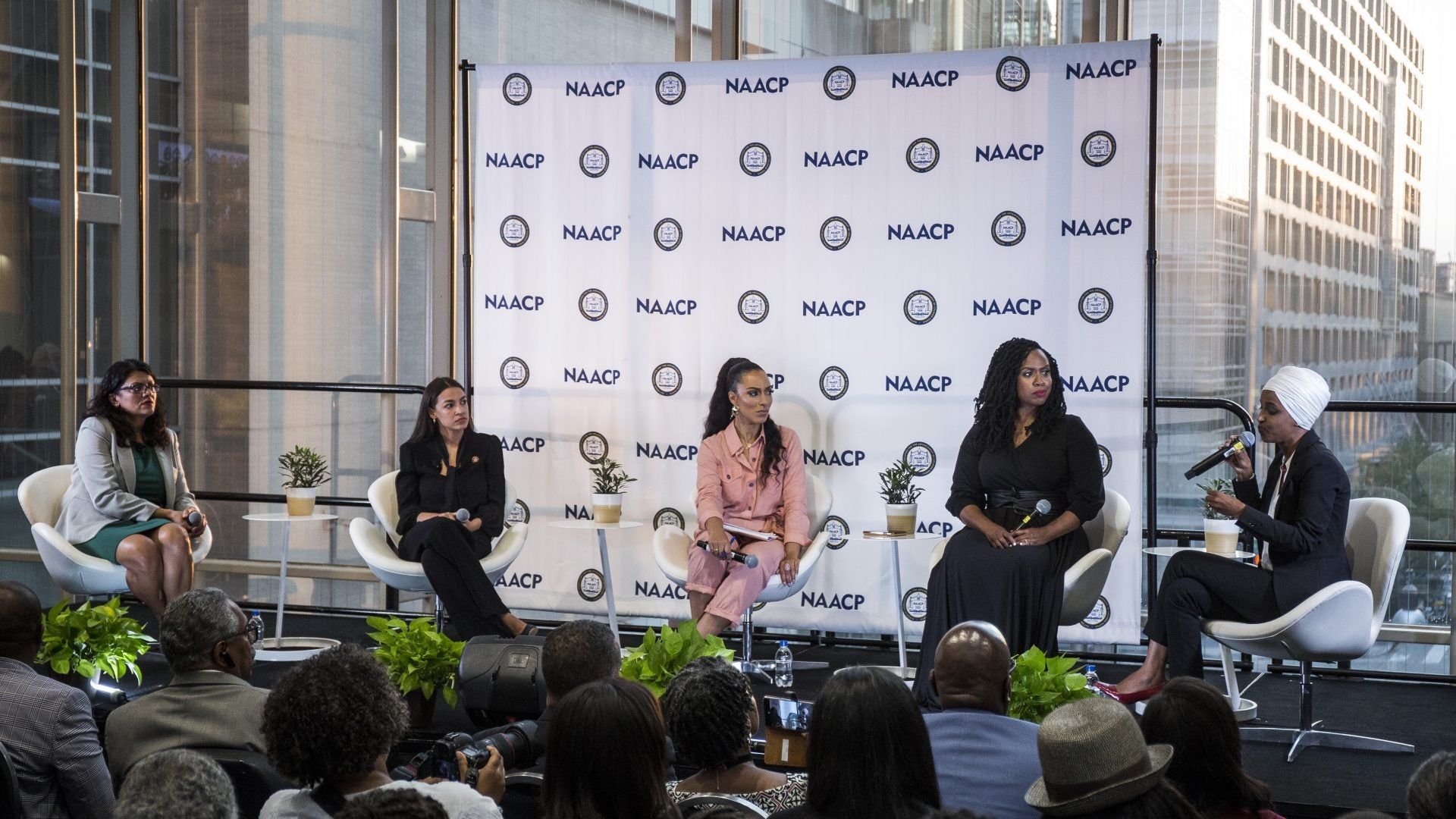 'The Squad' Draws A Crowd At Congressional Black Caucus