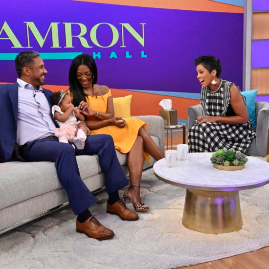 Kenya Moore and Marc Daly Discuss Their IVF Journey on 'The Tamron Hall Show'