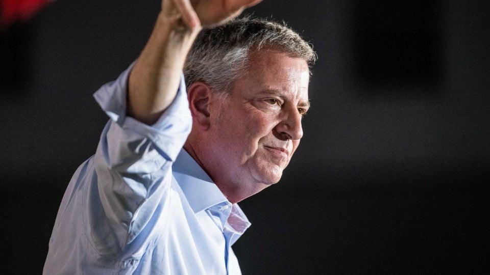 NYC Mayor Bill de Blasio Exits 2020 Presidential Race
