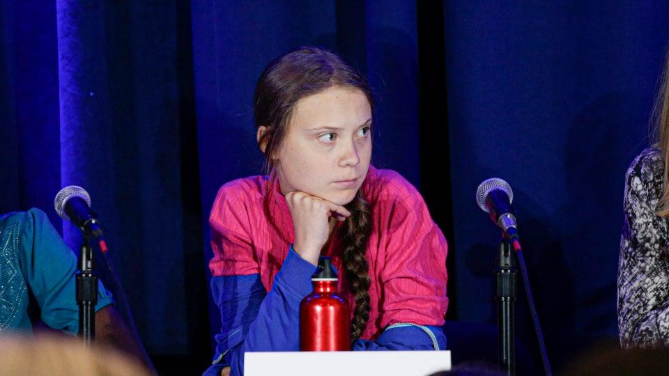 President Trump Mocks 16-Year-Old Climate Activist Greta Thunberg