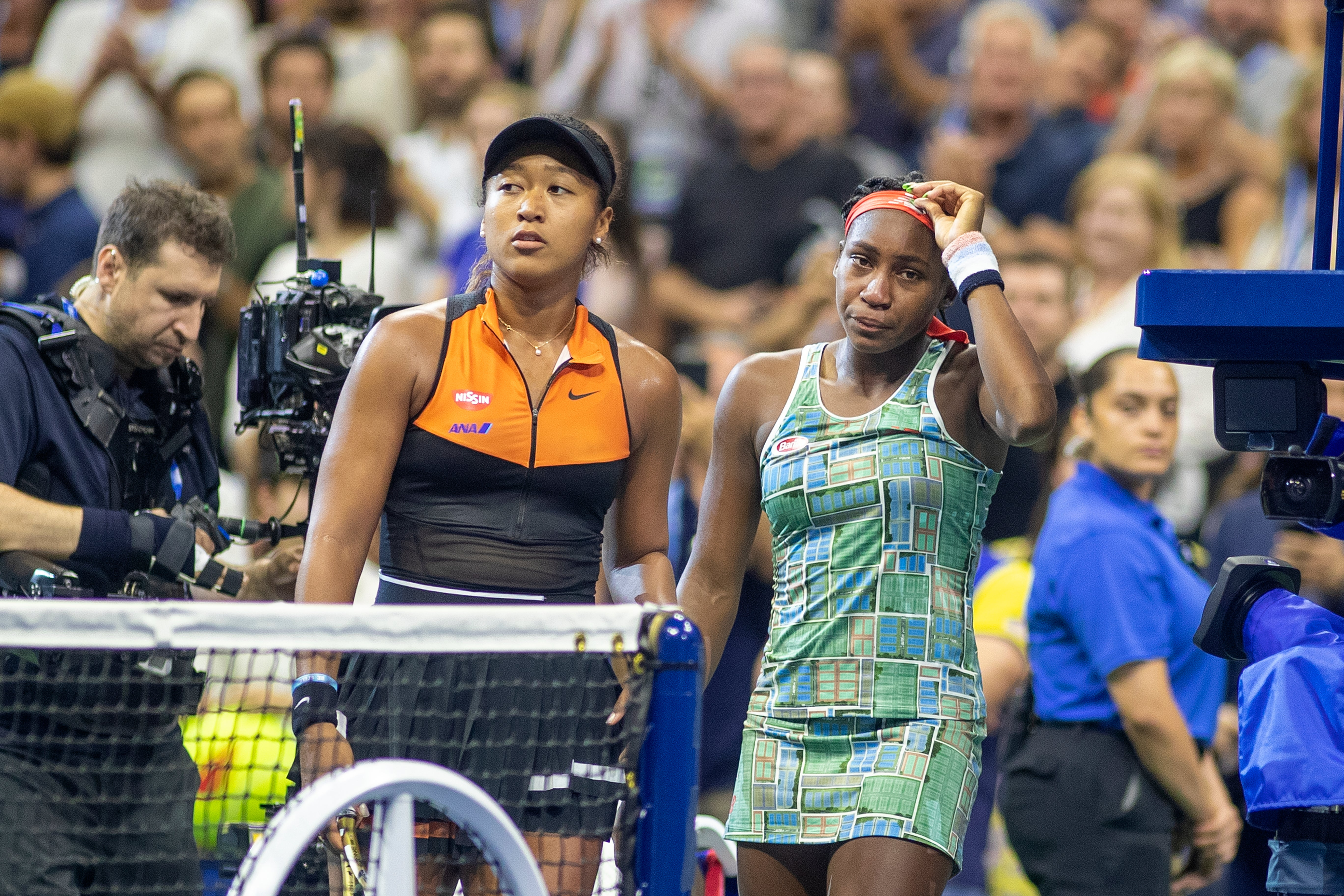 We Can't Get Over This U.S. Open Moment Between Naomi Osaka And Coco Gauff