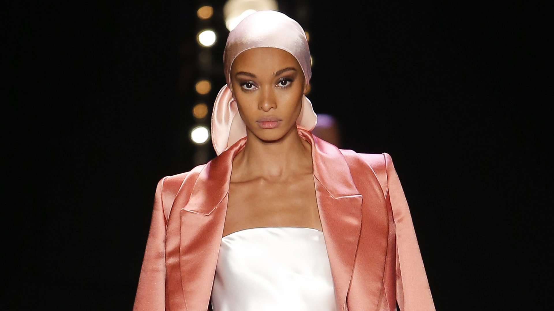 NYFW: Brandon Maxwell's Durag and Cornrow-Adorned Models  Usher In A New Era Of Cool for the Label