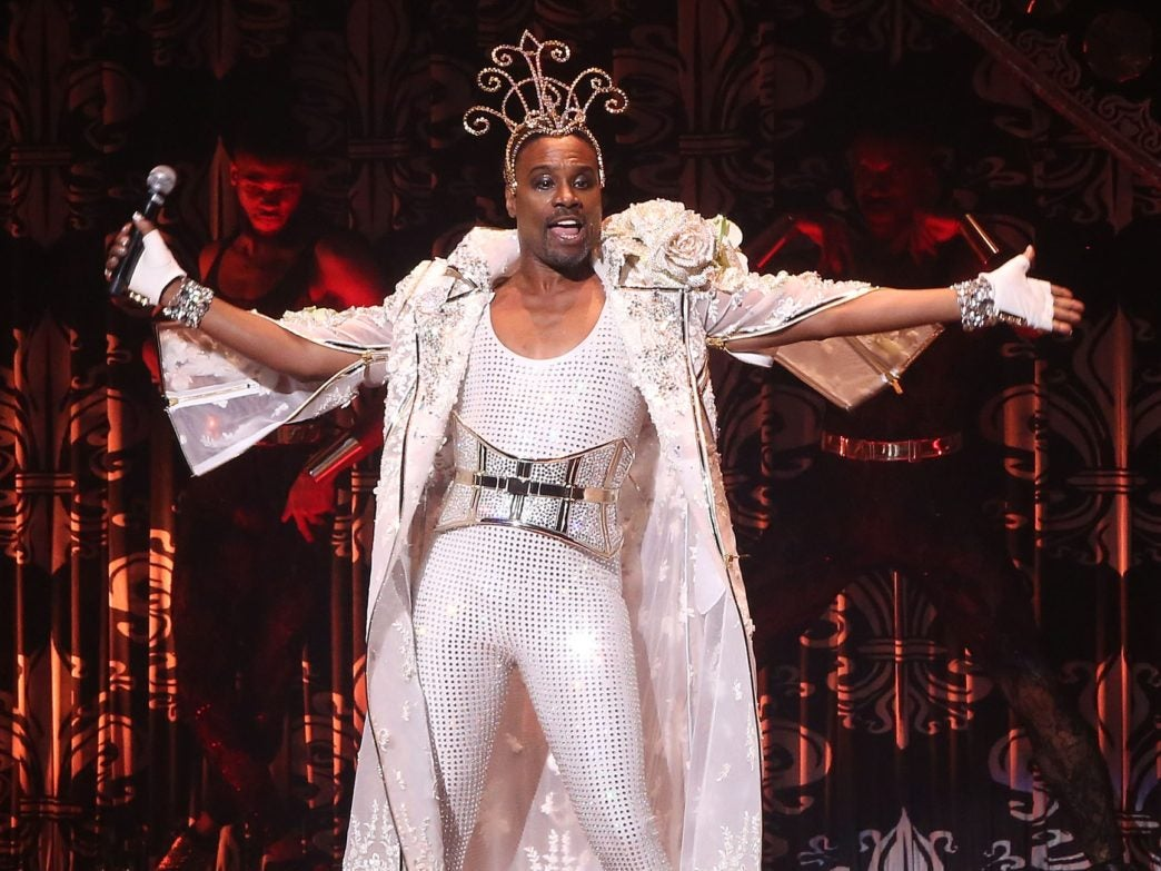 NYFW: Billy Porter Snatches Wigs With His Lady Marmalade Performance At The Blonds Fashion Show
