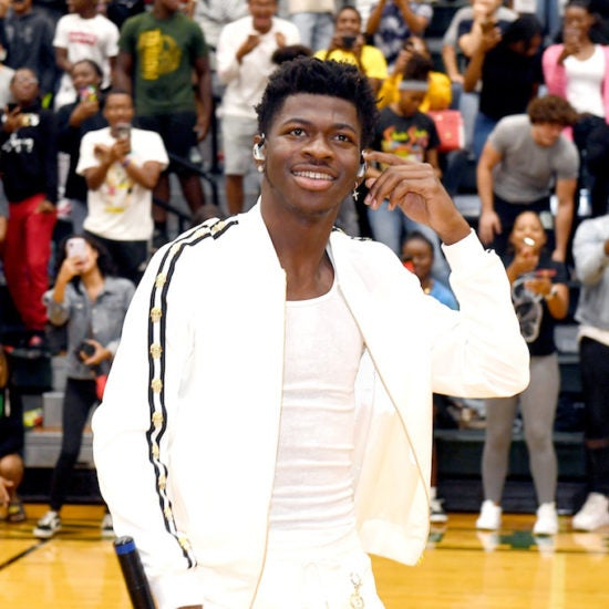 Lil Nas X Surprises Students At Hometown High School