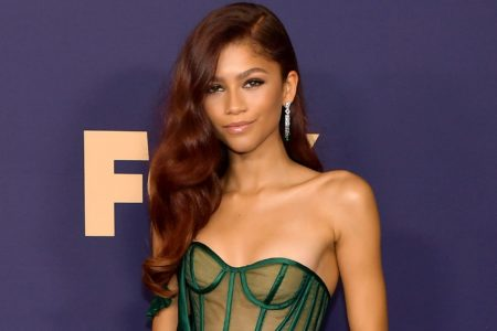 Zendaya Is All Grown Up In Custom Vera Wang At Emmys