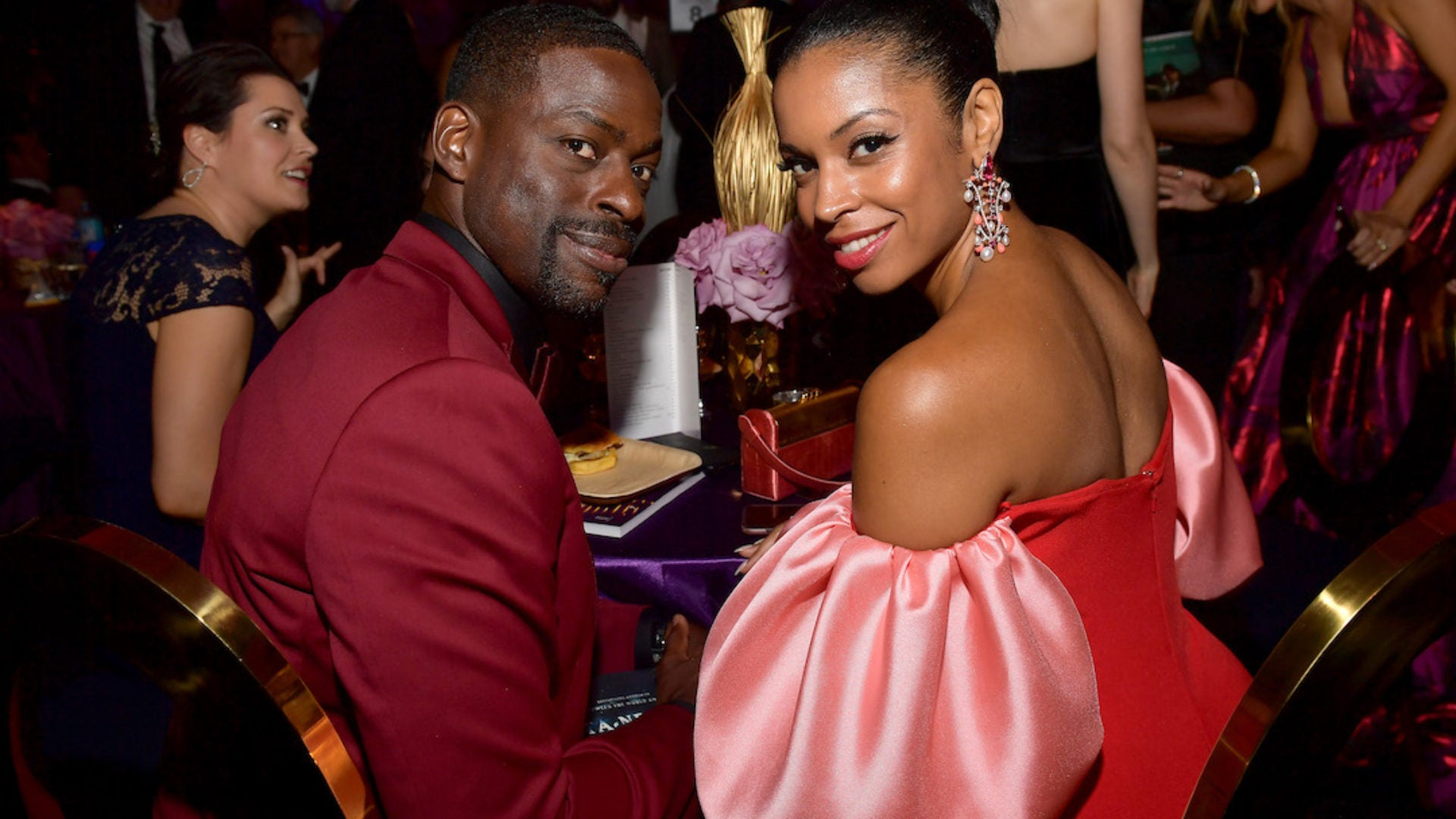 'This Is Us' Stars Sterling K. Brown And Susan Kelechi Watson Keep The Good Times Going
