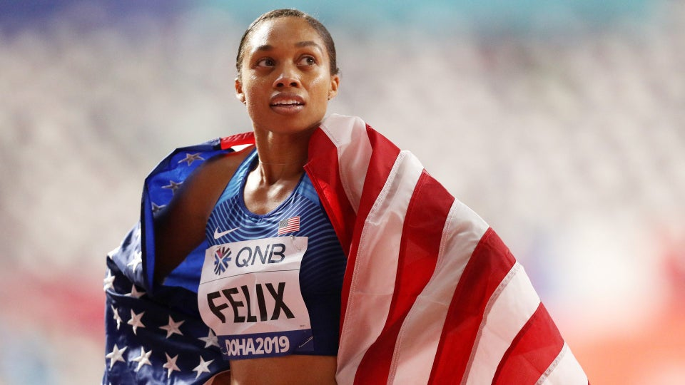 Allyson Felix Breaks Usain Bolt's Record For Most Golds At World Championships
