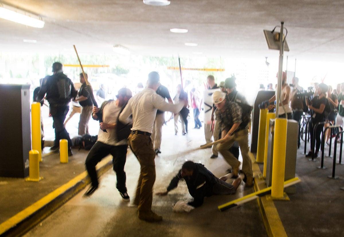 DeAndre Harris gets beaten by gang of white men in parking garage