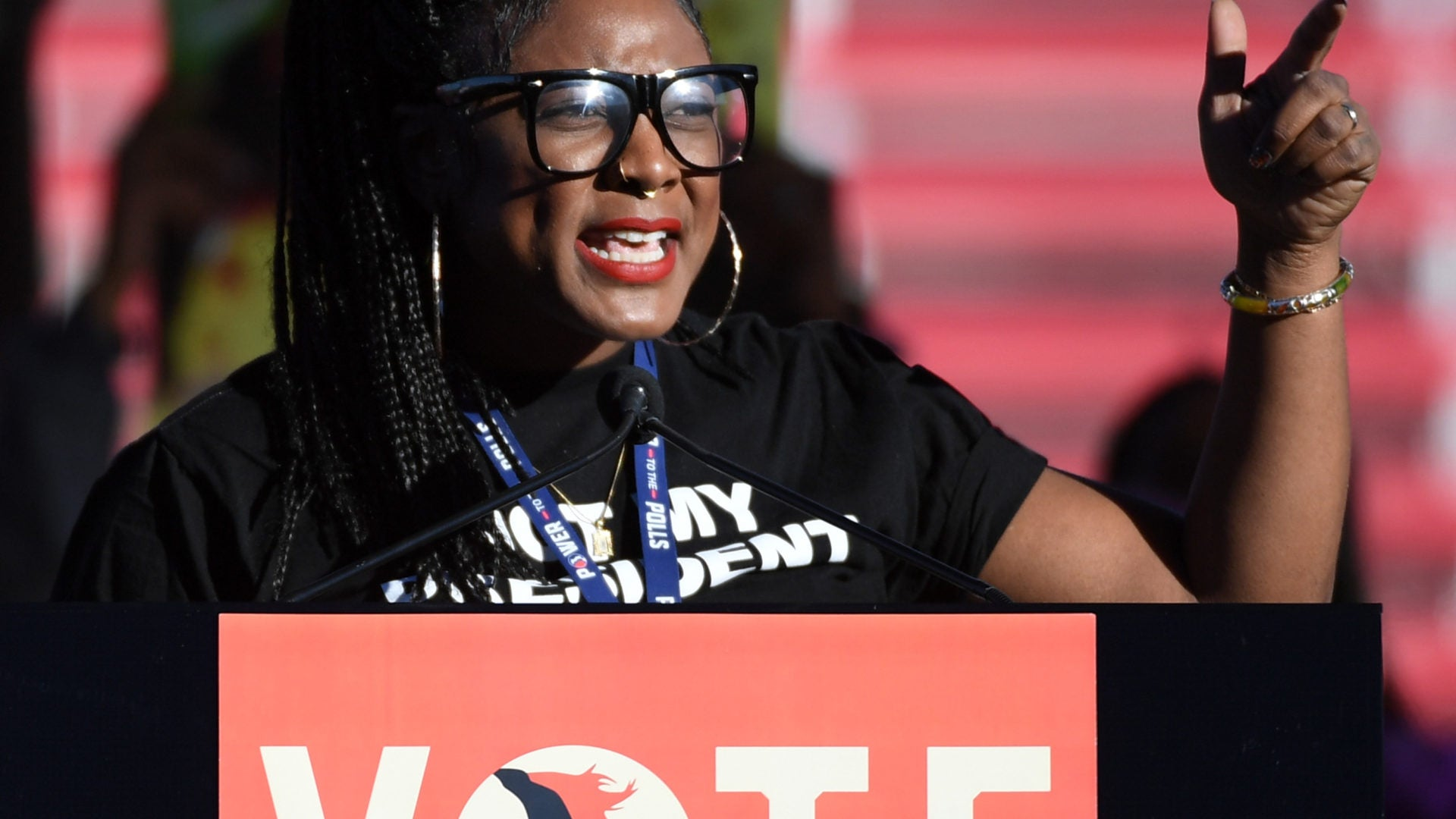 Women-Led Organization Kicks Off Bus Tour To Mobilize Female Voters