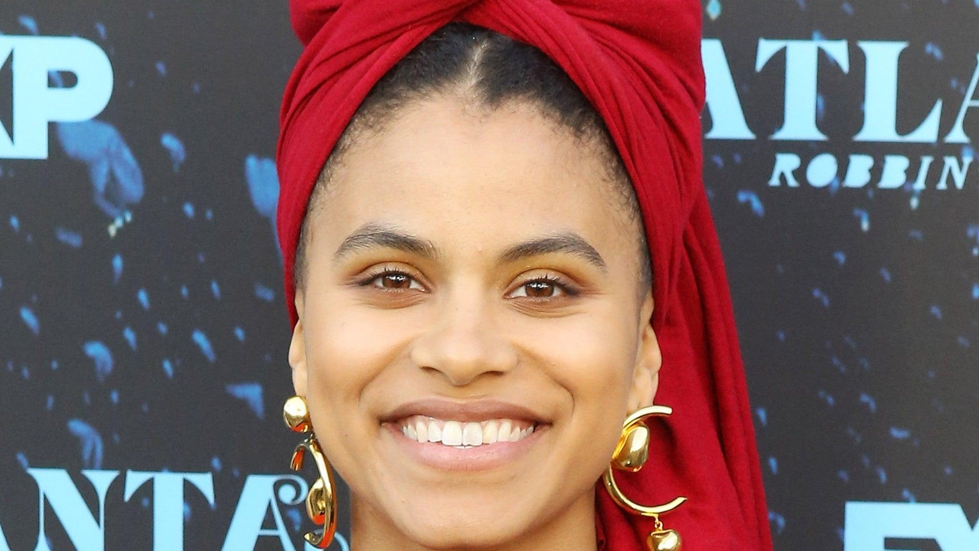 Zazie Beetz Rocks An Amazing Afro At The Venice Film Festival