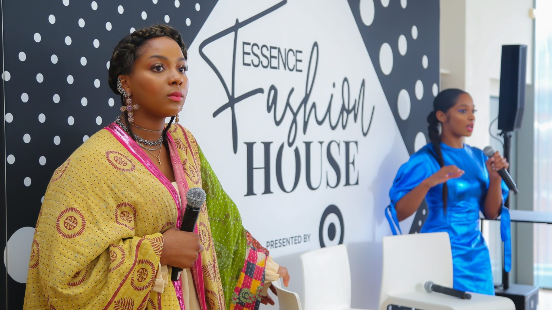 """ESSENCE Fashion House NYC: Justine Skye Sits Down With Girls United For Podcast, """"Magic Unfiltered"""""""