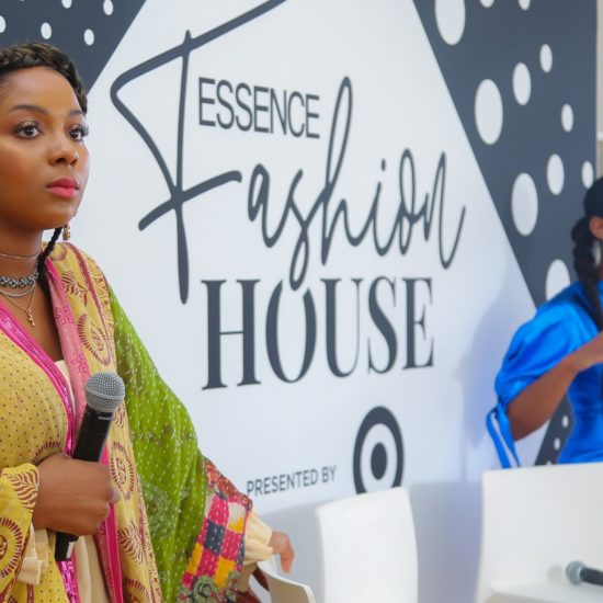 "ESSENCE Fashion House NYC: Justine Skye Sits Down With Girls United For Podcast, ""Magic Unfiltered"""