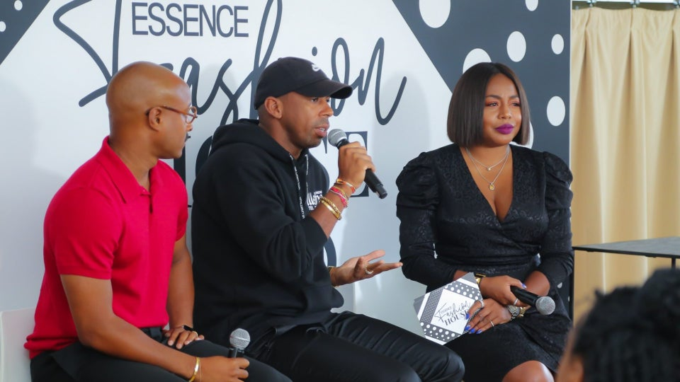 ESSENCE Fashion House NYC: Jason Bolden And Adair Curtis Discuss The Struggles Of Being A Black Entrepreneur