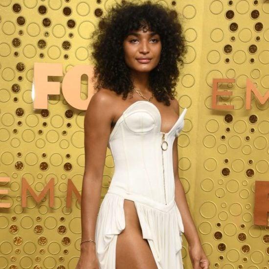 'Pose' Star Indya Moore Serves Skin At 2019 Emmys