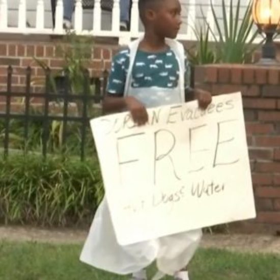 6-Year-Old Saving For Disney Trip Donates Money To Dorian Evacuees