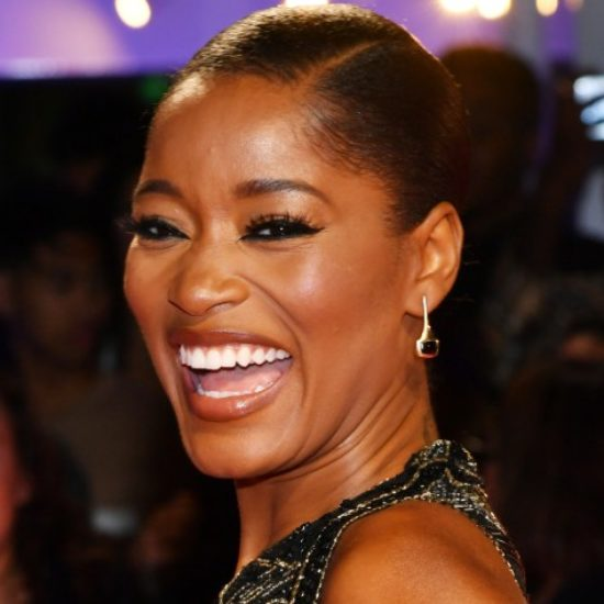 Keke Palmer Walked Her First NYFW Runway In Cornrows And Red Lips