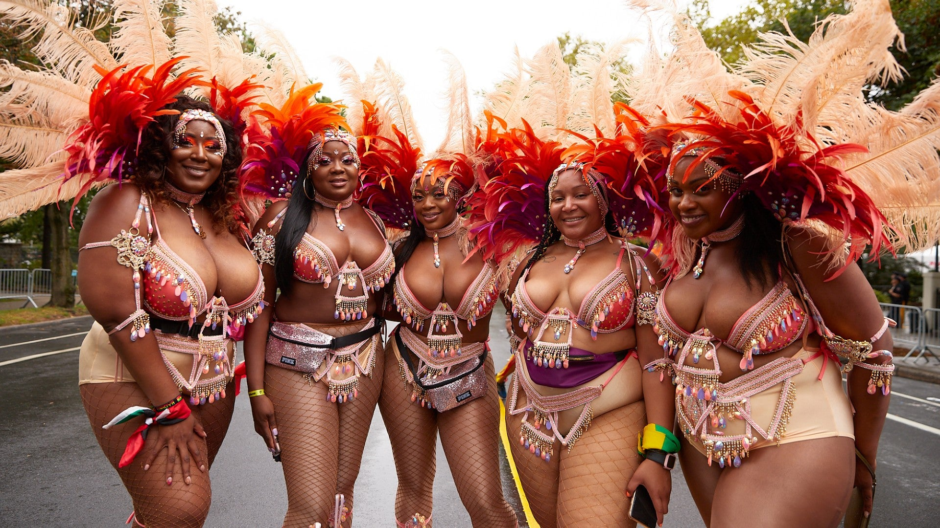 Beauty From The West Indian Carnival Parade In New York City ...