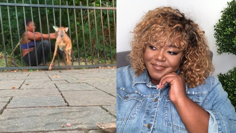 Watch The OverExplainer React To A Black Woman Saving A Deer