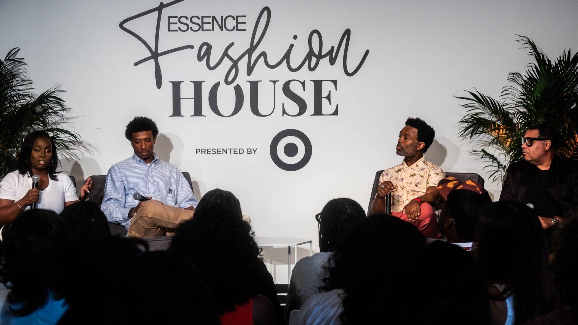 ESSENCE Fashion House NYC: Ouigi Theodore, Guy Wood Sr., Leroy Pope, And Sharifa Murdock Talk Running A Successful Business