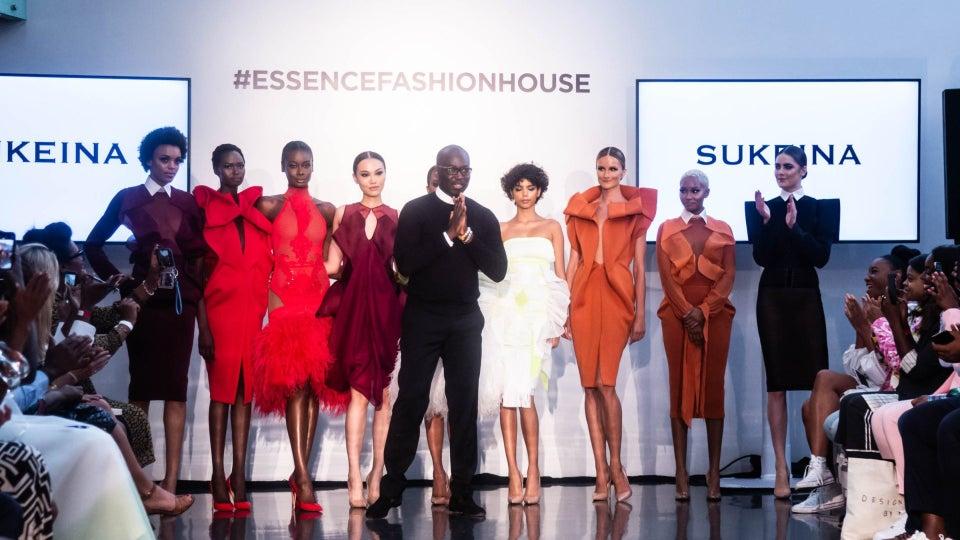 ESSENCE Fashion House: Omar Salam Sent Daring Looks Down The Runway