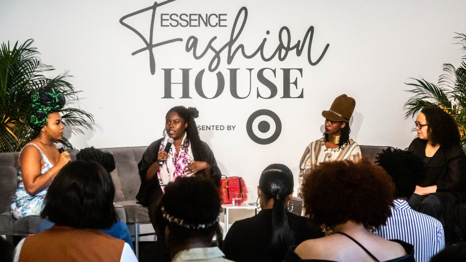 ESSENCE Fashion House NYC: Abrima Erwiah, Krista Alexander, And Dominique Drakeford Talk Sustainable Fashion