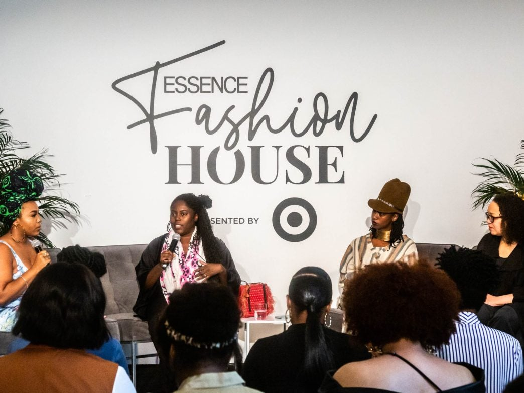 ESSENCE Fashion House NYC: Abrima Eriwah, Krista Alexander, And Dominique Drakeford Talk Sustainable Fashion