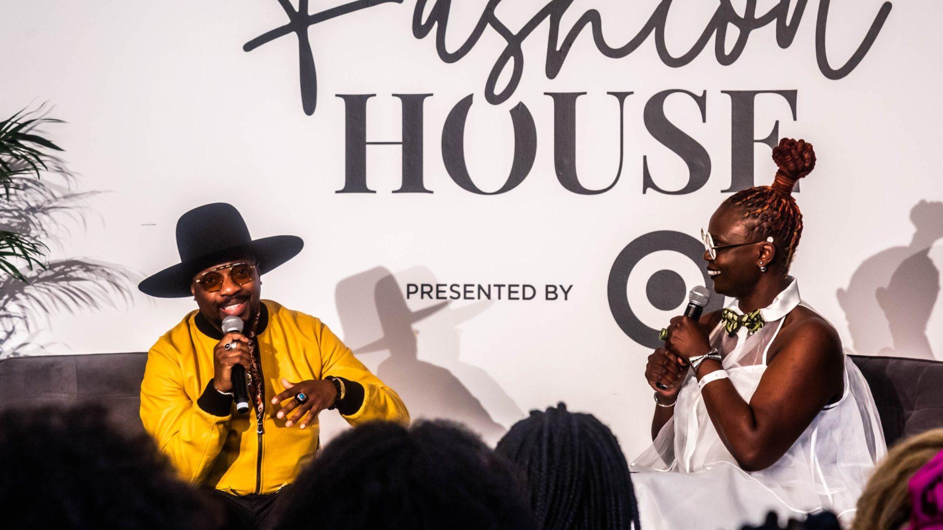 ESSENCE Fashion House: Anthony Hamilton And Target's Caroline Wanga Talk Revolutionizing Accessible Design