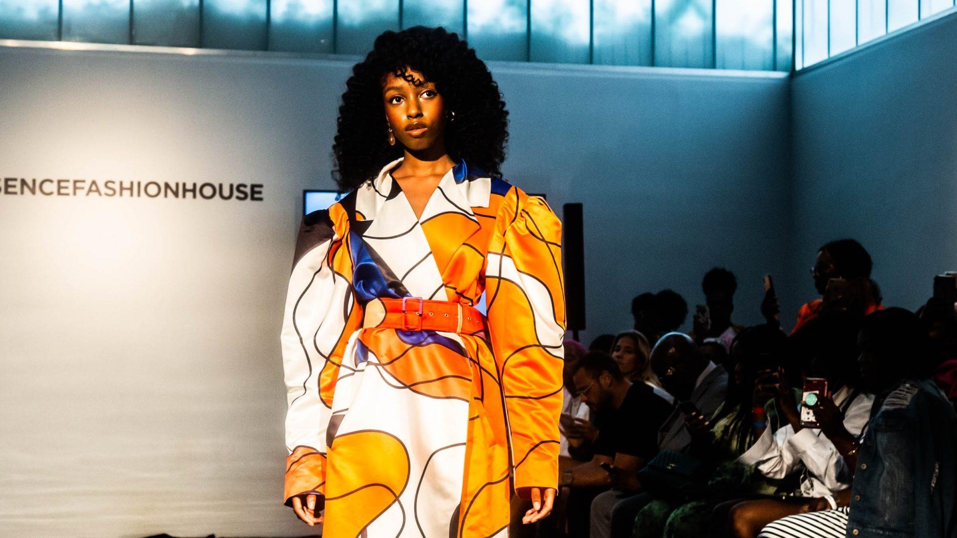 ESSENCE Fashion House NYC: Rich Mnisi Sends Sleek Looks Down The ESSENCE Runway