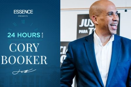 24 Hours On The Campaign Trail With Cory Booker - Essence