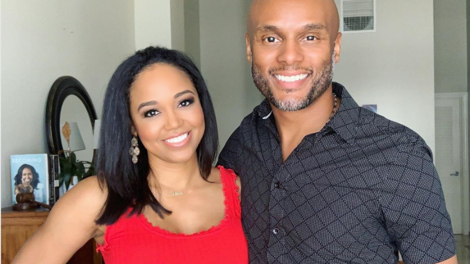 A First Look At Kenny Lattimore And Judge Faith Jenkins's Wedding Photos