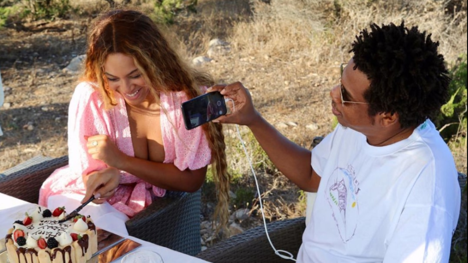 Outstanding All Of The Many Ways Jay Z Has Celebrated Beyonces Birthday Essence Personalised Birthday Cards Cominlily Jamesorg