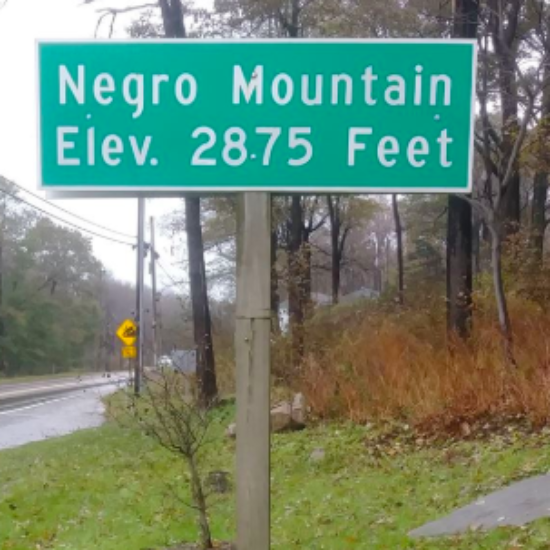 Signs Marking 'Negro Mountain' Removed From Maryland Highways