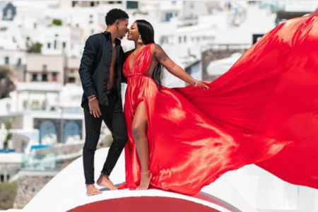 YouTube Couple De'arra and Ken 4 Life Got Engaged In Greece