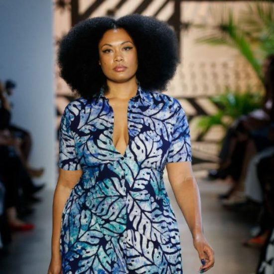 13 Breathtaking Photos Of Models Rocking Afros At NYFW