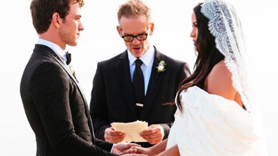 Singer Cassie and Celebrity Trainer Alex Fine Get Married In Surprise Wedding In Malibu